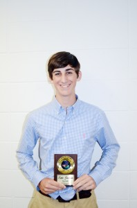 The Brookhaven Academy golf team was honored during a spring athletic banquet.  Luke Jackson was named Top Golfer.