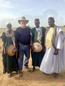 Photo submitted/Bill Manduca (second from left) worked as the executive director of the Clean Water for Malawi project, which has drilled 158 wells in the African country since 2010.