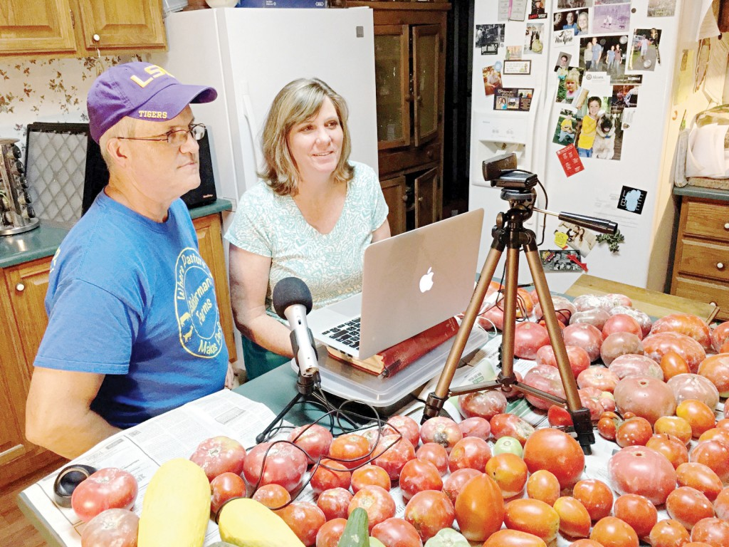 Photo submitted/Tommy and Patti Alderman will share their farm experiences on their Alderman Farms Live YouTube  channel every Sunday at 5 p.m.