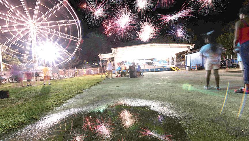 File photo/Exchange Club Fair, hosted at Exchange Club Park, will kick off this year on July 30, and will be open from 6:30 to 10 p.m.