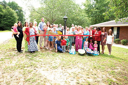 Photo by Amy Rhoads/Imagination Station Learning Center located at 1065 West Congress St. recently held its ribbon cutting. The center is owned by Tim and Becky McDowell. They accept children six weeks to five years old.