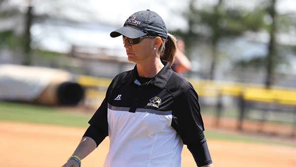 Photo courtesy of USM Media Relations/  Wendy Hogue is entering her third season as head softball coach .