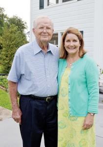Frank Burns and Jill Logan