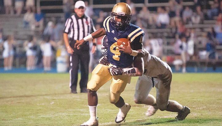 File photo/ With one of the deadliest athletes in the area in De'Martre Collins, the Franklin County Bulldogs look poised to get back to their winning ways this year.