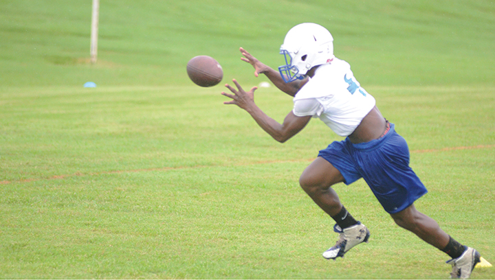 Photos by Anthony McDougle Miquell Powell will also be expected to play major roles on offense and defense for Copiah Academy in the 2016 season.