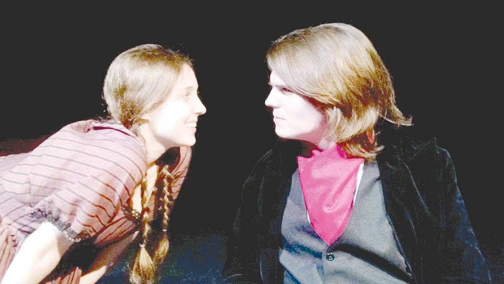 """Photo submitted/MSA students prepare for the opening of """"Jane Eyre"""" this week. The show will be performed in the Enochs Black Box Thursday through Saturday."""
