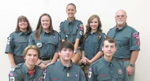 Venture Crew 119 was founded this year. It is a co-ed group for youth ages 14 to 21 who are interested in the great outdoors.