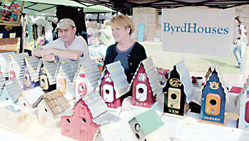 File photo/The town of Wesson expects to have more than 200 vendors at its 45th annual flea market Saturday. The event, hosted by the Wesson Volunteer Fire Department, will run from 8 a.m. to 5 p.m. in downtown Wesson.