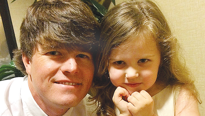 Photos submitted/ Grant Case was a doting uncle to his nieces, 3-year-old Lillie (shown here) and 1-year-old Mae. Case, the son of Richard Case Sr. and Beverly Bane Case, died Thursday from the injuries he sustained in a one-vehicle crash Wednesday on I-55 in Pike County.