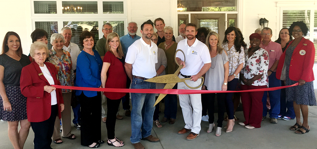 Photo submitted BeeHive Homes held a ribbon-cutting ceremony at its new Brookhaven location at 1031 West Congress St. Oct. 7.