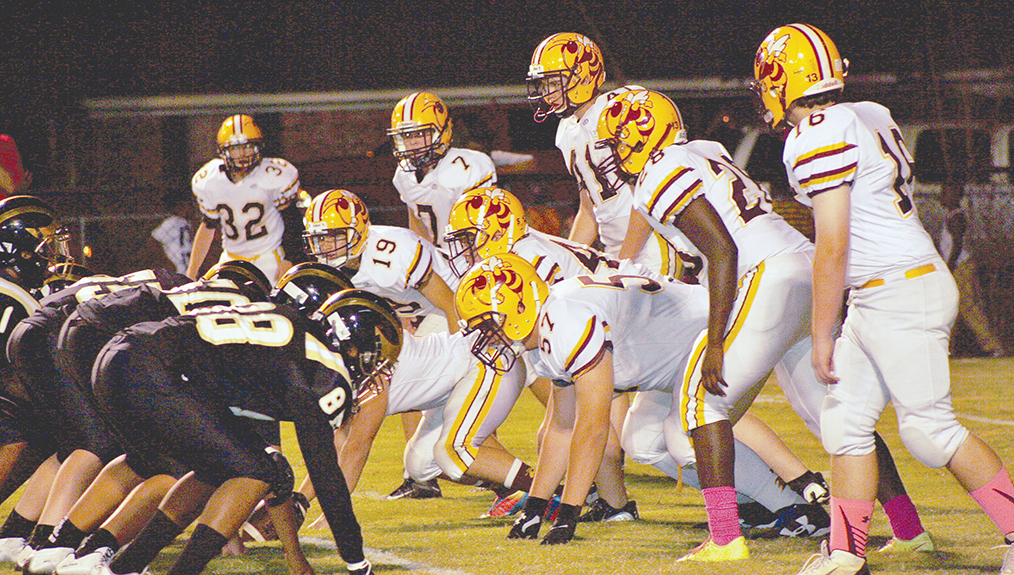 Photo by Christy Boyte/Enterprise is hoping to contain Amite County when the Trojans come to town tonight.