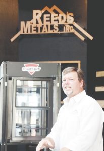 Reed's Metals CEO Bernie Reed discusses the features of the company's $3 million expansion.