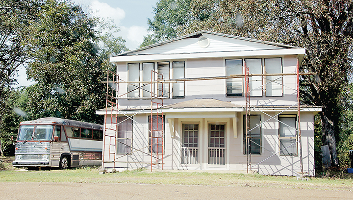 Photo by Alex Jacks/The new owners of 215 Railroad St. have made progress cleaning up the property and structure since requesting that the Brookhaven Board of Aldermen give them time to make improvements.