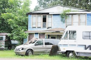 File photo/The Brookhaven Board of Aldermen will hear from owners of this property on Railroad Street as well as their neighbors at a public hearing Thursday.