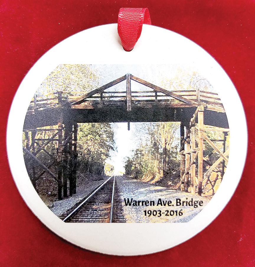 Warren Avenue Bridge ornament