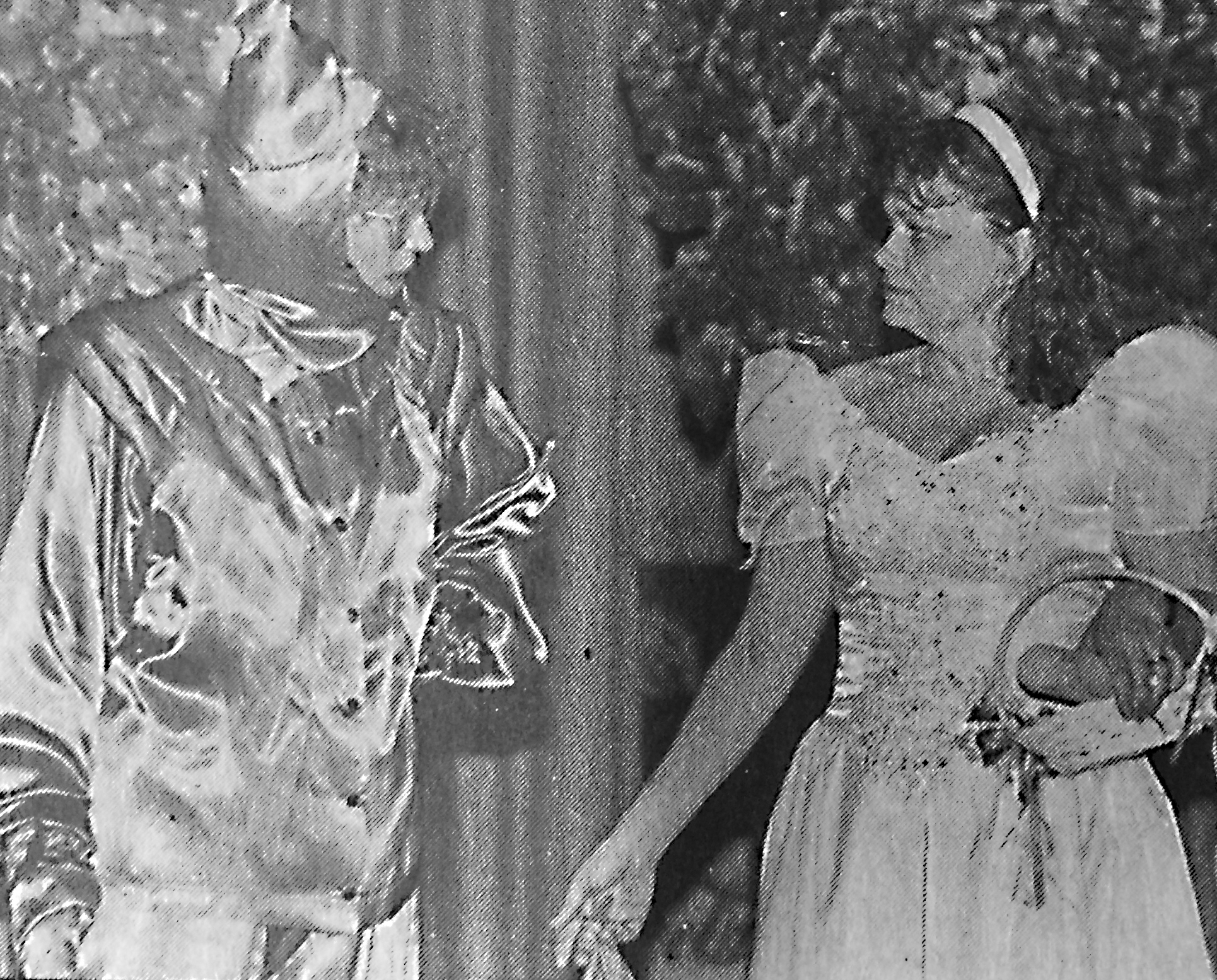 The Tin Man (played by Beth Breeland), left, talks with The Good Fairy (played by Sherry Adams) in 1976. To identify individuals or to submit photos for Reflections, contact The DAILY LEADER at P.O. Box 551, Brookhaven, MS 39602; by telephone at 601-265-5296; by fax at 601-833-6714, or by e-mail at reflections@dailyleader.com. Pictures are published free of charge and will be returned to the owner. Photos taken at least 25 years ago are preferred.