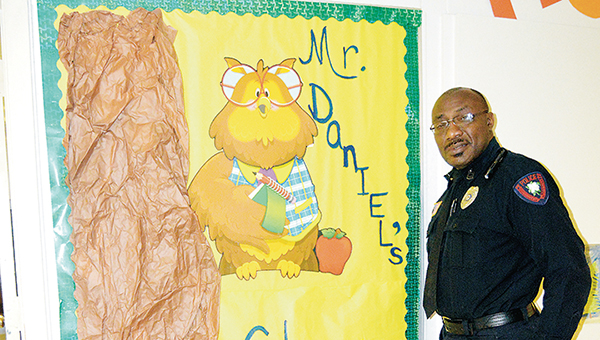 Photo by Orionna Brumfield/ Officer Fred Daniel divides his time between the Brookhaven Police Department and as a teacher at Lipsey School.